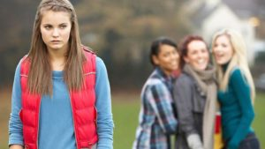 Teen bullying image